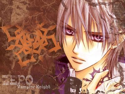 Zero from vampire knight i wanna meet him ^^