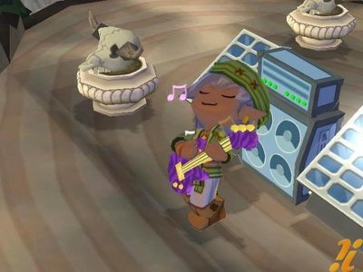 I believe in Elves. I've believed in them since this game. GO [url=http://mysims.wikia.com/wiki/Leaf_(MySims_Kingdom)]LEAF![/url] Yep, Elves play guitar.