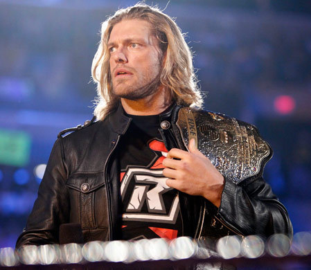Edge had to retired from WWE. :'( anda will be missed, Edge. :(