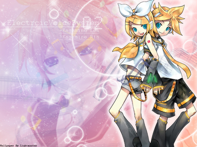 Vocaloid Rin and Len