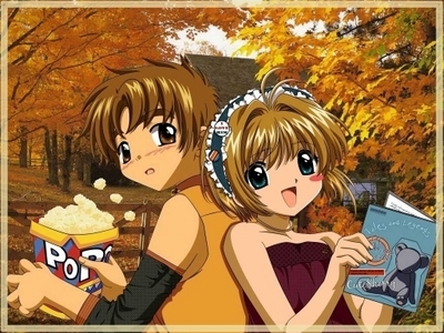 sakura and syaoran from:card captor sakura hitsugaya and hinamori natsume and mikan soul eater characters to