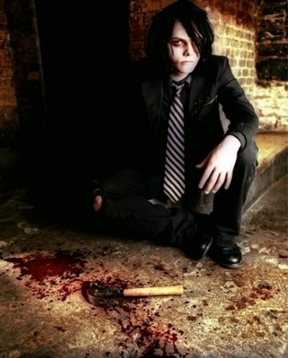 Um *hides a body along with a bloody knife* I never killed anyone *smiles innocently* Gerard did though >:)