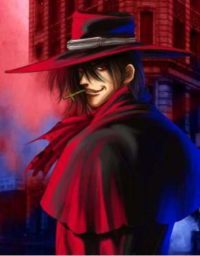 Alucard!! I could only dream of someone like him! How I&#39;m jealous of Seras... I wish I could get turned in to a vampire the same way she was. I always dream about him! <333