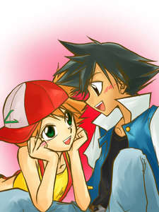 Misty! She likes him. He lkes her. nuff said
