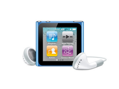 i have the 6th generation touch screen 1 its blue it looks exactly like this