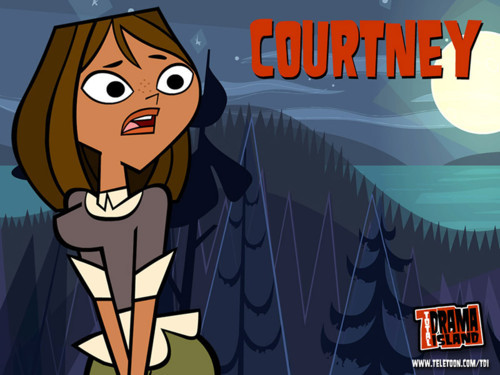 Courtney for the Total drama Series!!!!!! BEST Character!!!!!!!! Go Team Courtney!!!!!