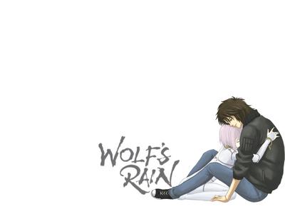 Kiba and Cheza from Wolf's rain, Suuuuuuu sad DX!
