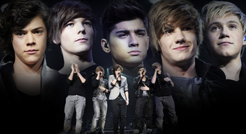 mine is one direction:) one interesting fact about each of the band members is: Niall: he'd rather lick a fat mans armpit than drown in a sea of mayonaise. harry: he has four nipples. (they counted) louis: he owns boxers with 'luvly jubbly' written on the front. zayn: he wears make-up all the time and spends at least 2hrs looking at himself in the mirror everyday. liam: he only has one kidney. ya, im OBSESSED!!:)xxx