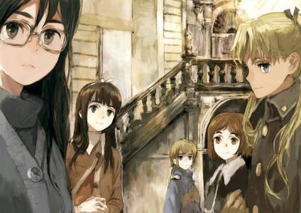 Gunslinger girl, becasue that's the عملی حکمت i hv most recently been watching.