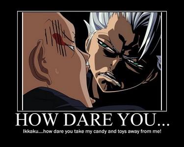 Toshiro getting mad at ikkaku..^^