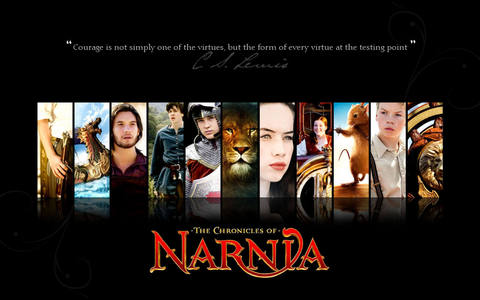 Well half of the time it's HP But Twilight now. Nah just kidding (Thank God) At the moment it's Narnia.