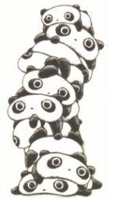 panda Pile!!!!>.<