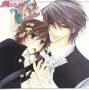 i think the best one is junjou romantica! i amor it!!!