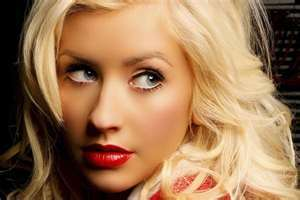 And this is................................ Christina Aguilara