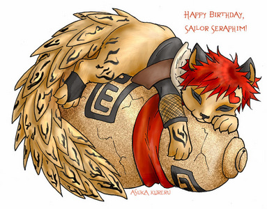 and this is a cute gaara cub look how cute X3