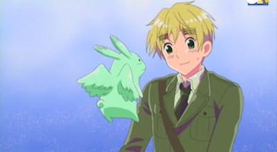Flying Mint Bunny! :D