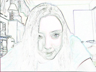 Me with a cool effect ^_^