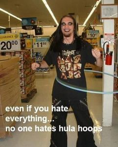 Someone get Mr. Tinkles a hula hoop....