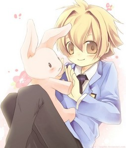 Honey senpai from Ouran High School Host Club!