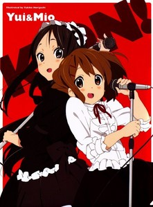 For me it's either Mio Akiyama and Yui Hirasawa both from K-ON!