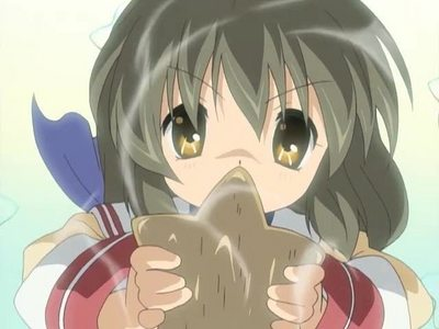 I Cinta Fuko Ibuki from Clannad. She's so cute! ^_^