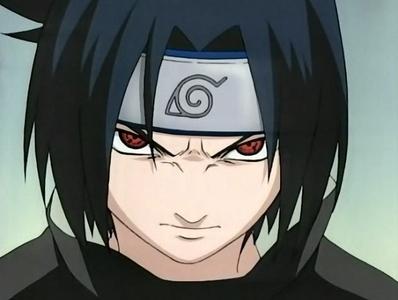 Sasuke has blue hair
