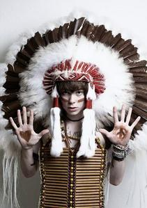 """Why American Indians have feathers on their headdresses. (I'm not sure if this is true, I got it off snopes.com and it said """"Undetermained"""")"""