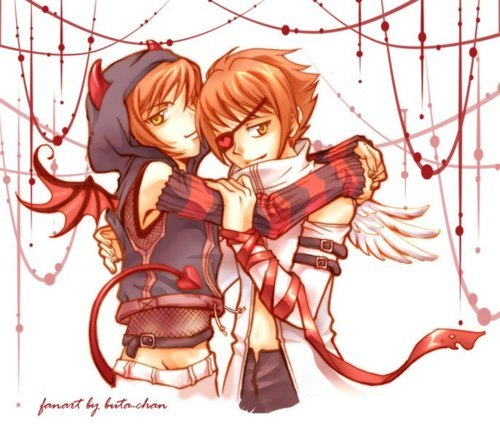 Hikaru and Kaoru Hitachiin! The twin little evil type of OHHC!>.<