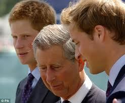 I think Charles has stepped up to the place and has been a good father ever since Diana's death.