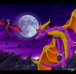 I dont care what tu say . I'm saying spyro and im adding cynder For ever