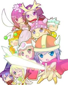 Shugo Chara! (pic isn't necessarily what the anime is about, its just really cute ^u^)