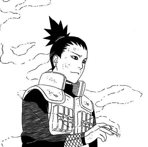 SHIKAMARU. FOR. THE. WIN. Soubi from Loveless for a close second. ;]