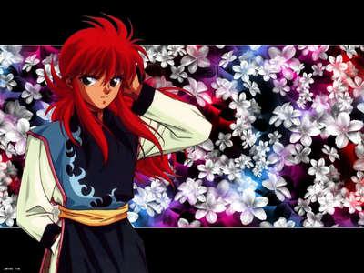 Shuichi Minamino A.K.A. Kurama from Yu Yu Hakusho