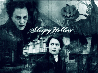All Tim バートン 映画 :D. But this one I like the most :D. Sleepy Hollow.