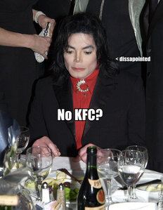 KFC. He loved to eat there