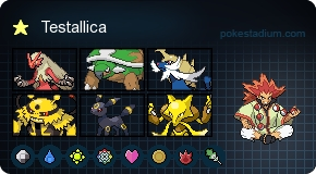 Blaziken, Torterra, Samurott, Electivire, Umbreon, and Alakazam. My team kicks ass.