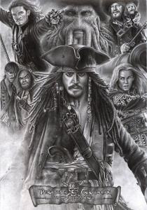 Pirates Of The Carribean 1,2,3 and about to be 4,and 2012's 5, and 2013's 6!