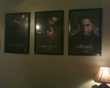One side of my room....