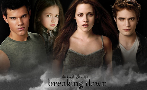 here Jacob Nessie Bella and Edward