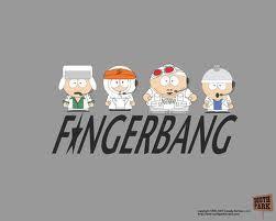 Kyle:)or Kenny<3 There both soooo cute x3 Oh and heres a walang tiyak na layunin fingerbang pic!