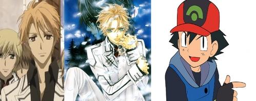 Акацуки and Aido from VK Ash Pokemon