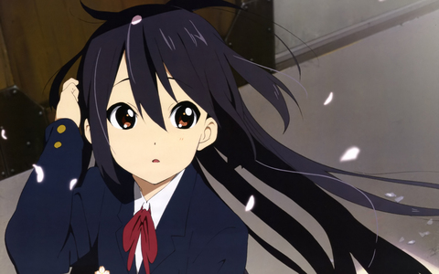 Azusa from K-ON!