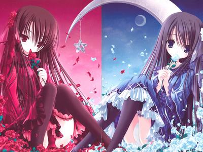 SOOO cute!! 1. http://1.bp.blogspot.com/_ahTlpmerVS4/TDWsrU2gC9I/AAAAAAAAAFc/KNHPT96HyYM/s1600/anime-twins.jpg 2.