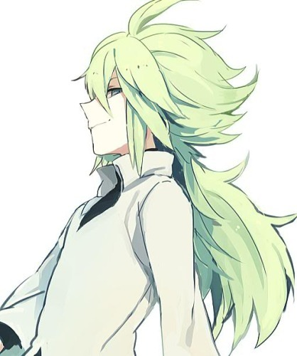[b]N from pokemon :D(Don't know if it will count,though,he's not in an anime..) And also: Naruto-Naruto Neliel-Bleach[/b]
