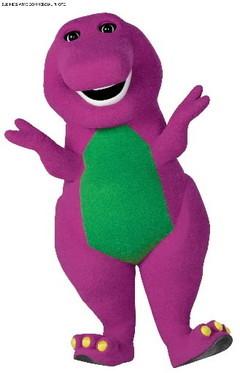 as in barney the dinosaur?