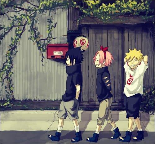 Naruto kicks Spongebob a$$ >:D