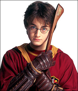 for me i think it would be HARYY POTTER .. because were have some same attitude i thnk ..