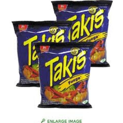 Takis... yummy...