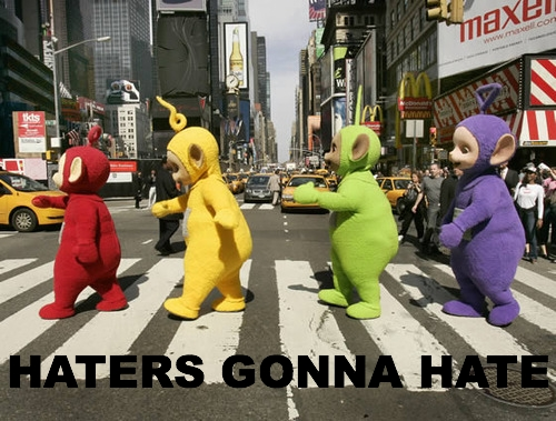 It's the Teletubbies! Whatcha Gonna Do.