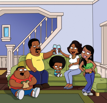 Yes, I have. They even had a little fun with that fact on The Cleveland Show...